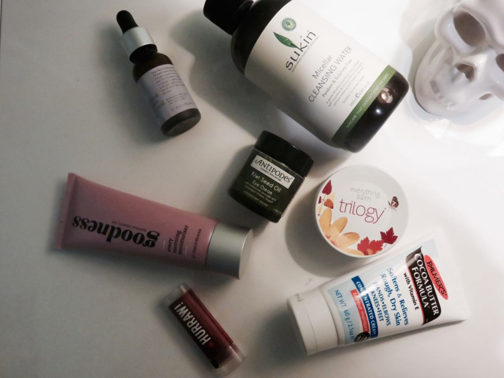 current skincare products, skincare