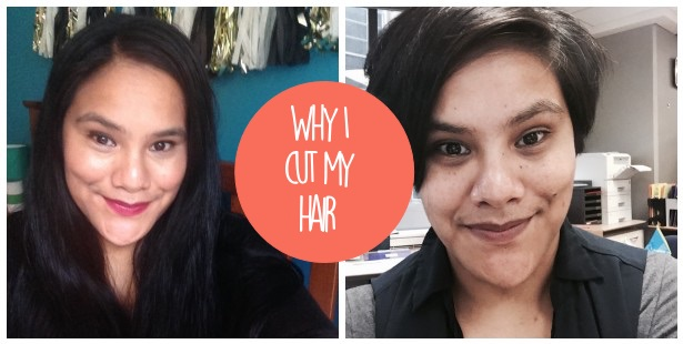 why i cut my hair, hair, haircut