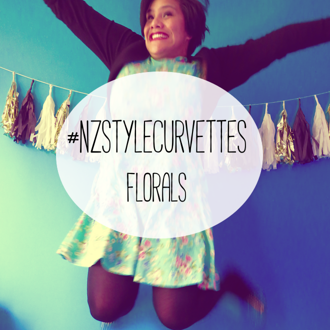 #nzstylecurvettes - floral, ootd, outfit of the day, outfit post, plus size