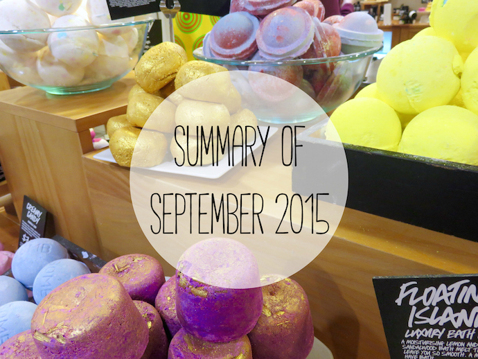 summary of september 2015