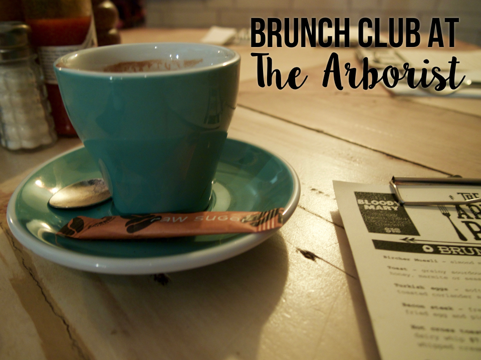 brunch club at the arborist