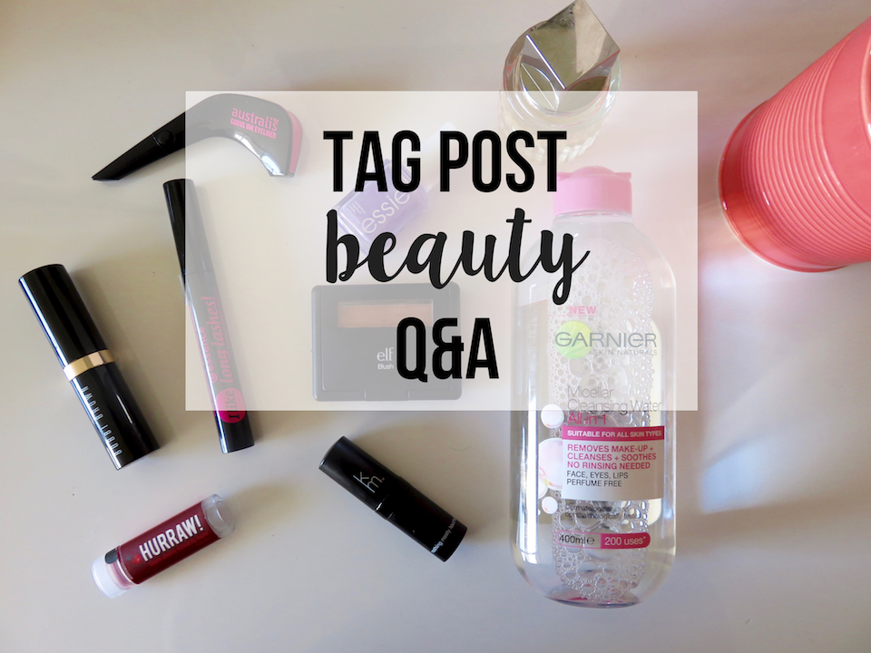 Tag Post: Beauty Q&A