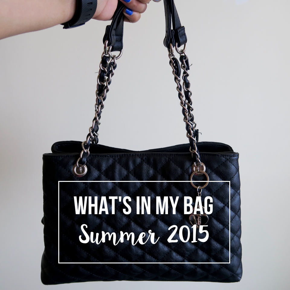 what's in my bag:summer edition