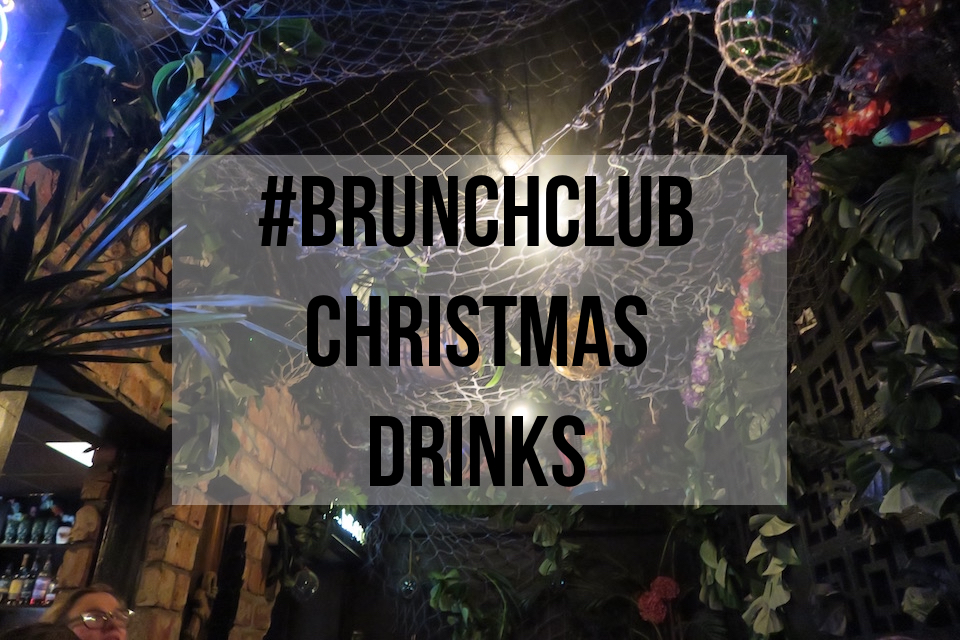 #brunchclub Christmas drinks