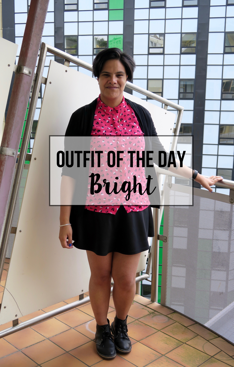 outfit of the day: bright